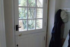 bespoke stable door made from Sapele hardwood.