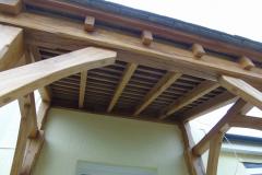 bespoke Green oak Porch