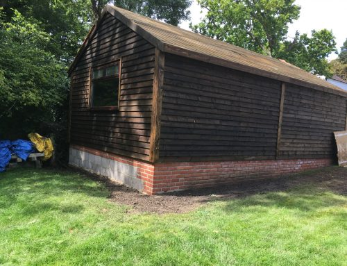 Timber building workshop, Hampshire