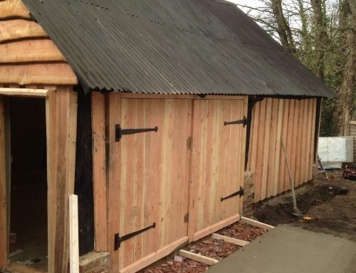 Barn to workshop conversion, Titchfield, Hampshire