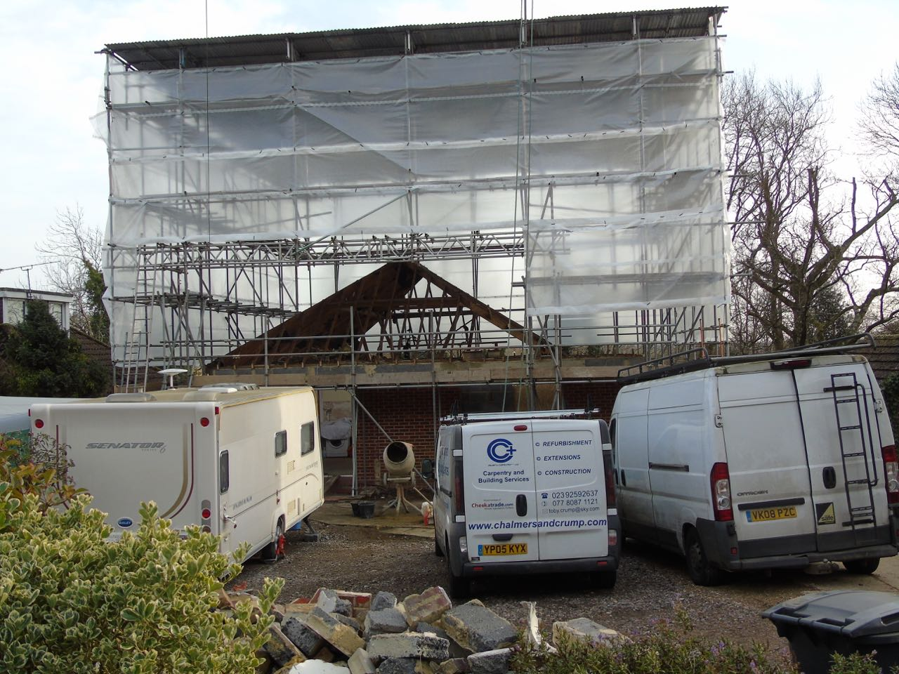Crumps Carpentry Plus- Home build project - horndean - hampshire